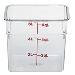 CamSquares Camwear Storage Container Clear - 6 Qt.