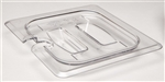 Camwear Food Pan Notched Cover with Handle Sixth Size