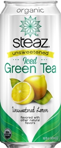 Organic Iced Tea Unsweetened Lemon - 16 Oz.
