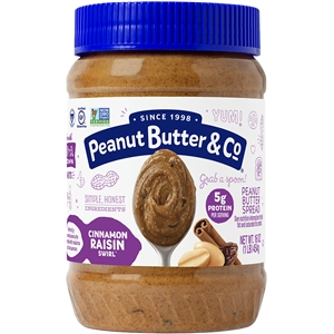 Cinnamon Raisin Swirl Peanut Butter - 16 Oz.