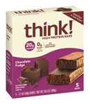 ThinkThin Bars Chocolate Fudge