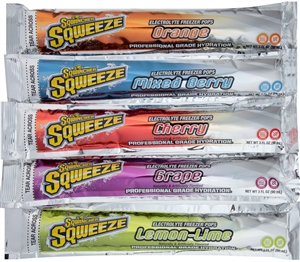 Sqwincher Assorted Flavor Eletrolyte Freezer Pops - 5 Oz.