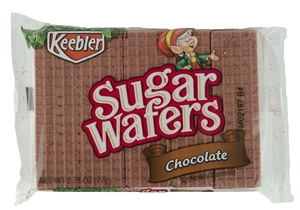 Keebler Sugar Wafers Chocolate - 2.75 Oz.