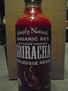 Simply Natural Organic Red Sriracha Sauce