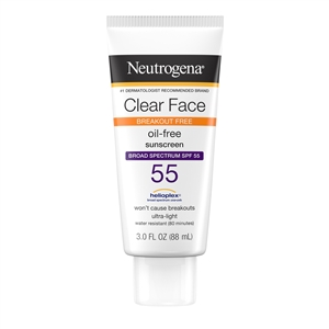 Clear Face Liquid Lotion - 3 Fl. Oz.