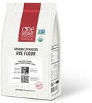 Organic Sprouted Rye Flour - 32 Oz.