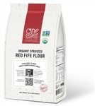 Organic Sprouted Red Fife Flour - 32 Oz.