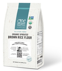 Organic Sprouted Rice Flour Gluten Free - 24 Oz.
