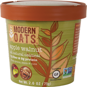 Apple Walnut All Natural Oatmeal - 75 Gr.