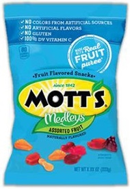Motts Fruit Snacks Assorted Fruit - 1.6 Oz.