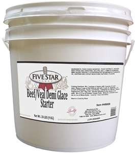 Sauce Glace Demi Beef Powder Add Water - 20 Lb.