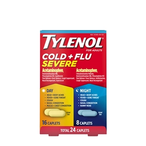 Tylenol Day and Night Capsule Cold and Flu
