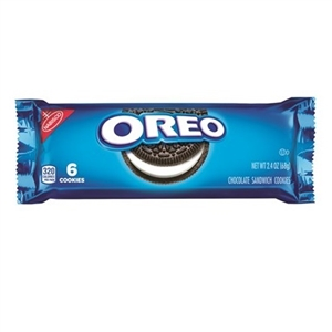 Oreo Cookies-Sleeve Pack - 2.4 Oz.
