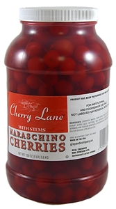 Maraschino Cherry With Stem - 1 Gallon
