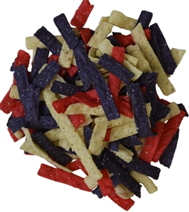 Tortilla Strips Tri-Color - 0.5 Oz.