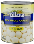 Whole White Canned Potato - 109 Oz.
