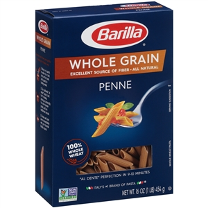 Penne Whole Grain Barilla - 16 Oz.