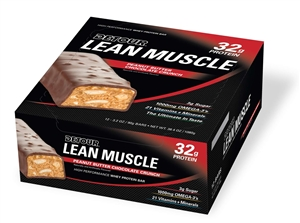 Detour Lean Muscle Whey Protein Peanut Butter Chocolate Chip Bar - 3.2 Oz.