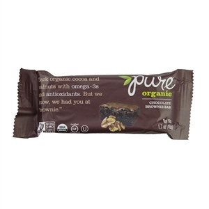 Kashi Pure Organic Fruit and Nut Chocolate Brownie Bar - 1.7 Oz.