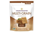Crunchmaster Multi-Grain Crackers Sea Salt Case
