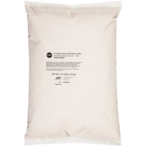 Frostline Pumpkin Spice Soft Serve Mix - 6 Lb.