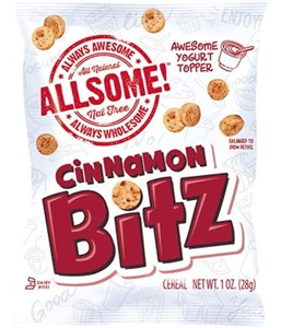 Cinnamon Bitz All Natural and Whole Grain Nut Free - 1 Oz.