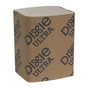 Dixie Ultra Interfold 2-Ply Napkin Dispenser Refill Brown