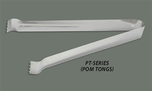 Stainless Steel Pom Tongs - 6 in.