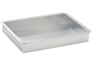 Rectangular Aluminum Cake Pan - 9 in. x 13 in. x 2 in.