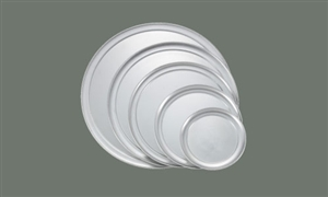 Aluminum Pizza Tray Wide Rim - 12 in.