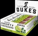 Dukes Chorizo and Lime Smoked Shorty Sausages Horizontal Caddie - 1.25 Oz.