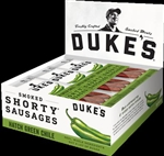Dukes Hatch Green Chile Smoked Shorty Sausages Horizontal Caddie - 1.25 Oz.