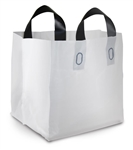 Soft Tote Large Bag White - 21 in.x 18.5 in x 10.5 in.