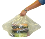 Party Tray Plastic Bag Clear - 12.5 in.x 11.5 in x 2.25 in.