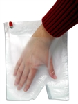 Food Mitt Poly Burger - 8 in. x 8 in.