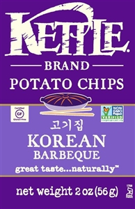 KC Korean BBQ Potato Chips - 2 Oz.
