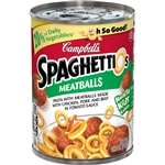 Campbells Pasta Spaghetti and Meatballs - 15.6 Oz.