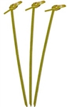 Bamboo Knot Pick - 3.5 in.