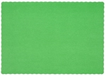 Placemat Green - 9.25 in. x 13.25 in.