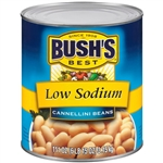 Bushs Best Low Sodium Cannellini Beans - 111 Oz.