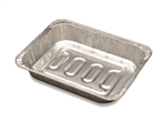 Pan Steamtable Foil Rectangle Oblong Medium Aluminum - 0.5 in. x 2.18 in.
