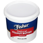 Creamy Natural Peanut Butter - 80 Oz.