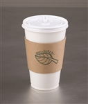 Eco Clutch Printed Hot Cup Sleeve Kraft