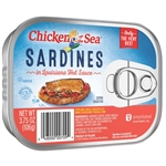 Chicken Of The Sea Sardines In Hot Sauce - 3.75 Oz.