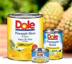 Pineapple Slices Choice In Juice - 107 Oz.
