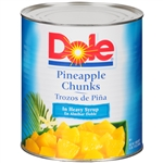 Pineapple Fancy Chunks In Heavy Syrup - 106 Oz.