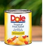 Fruit Salad Tropical In Light Syrup - 100 Oz.