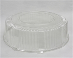 Lid 16 in. Round Clear Pet For Tray Serving