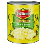Delmonte Diced Pears In Juice - 105 oz.