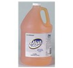 Dial Translucent Orange 1 gal Pump Bottle Body and Hair Shampoo